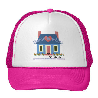 Am Staffordshire Terrier Home Is Trucker Hat