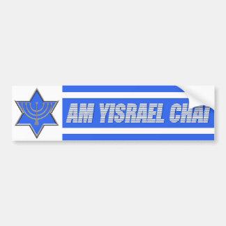 Am Yisrael Chai Bumper Sticker