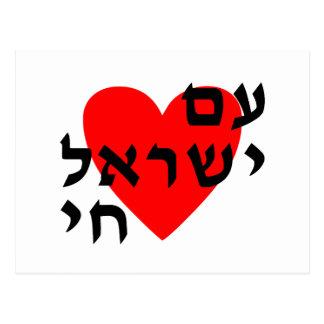 Am Yisrael Chai Postcard