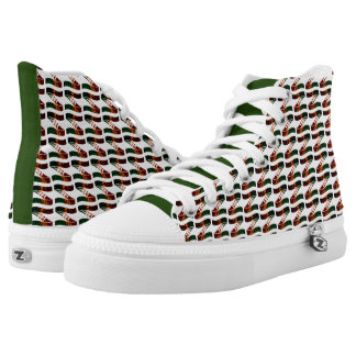Ama-Zam Youth High Tops Zed Colours