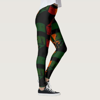 Ama-Zam Youth Leggings Zed Colours