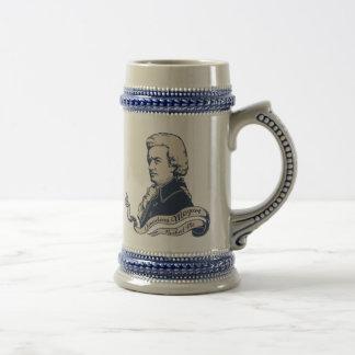 Amadeus Rocked Me Beer Stein