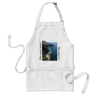 Amalfi, Coast, Apron, Italian, Cook, Standard Apron