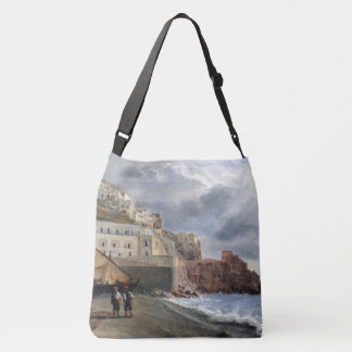 Amalfi Coast Italy Fishing Boats Sea Tote Bag