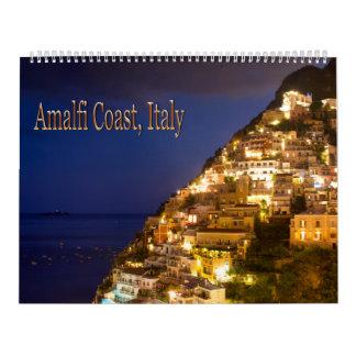 Amalfi Coast, Italy Wall Calendar 2016