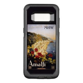 Amalfi Italy custom monogram phone cases