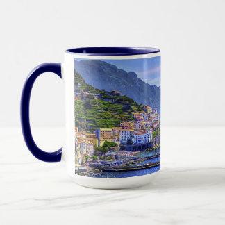 Amalfi Italy Europe Colorful Photo Art Mug