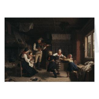 Amalia Lindegren - Sunday Evening in a Farmhouse i Card