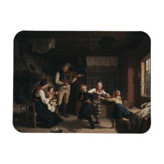 Amalia Lindegren - Sunday Evening in a Farmhouse i Magnet