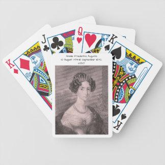 Amalie Friederike Augusta c1825 Bicycle Playing Cards