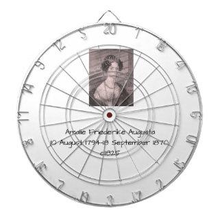 Amalie Friederike Augusta c1825 Dartboard