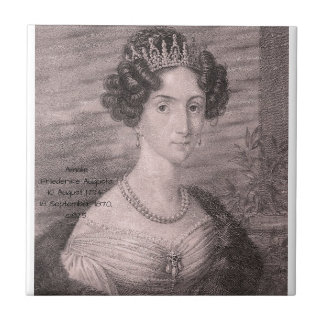 Amalie Friederike Augusta c1825 Tile