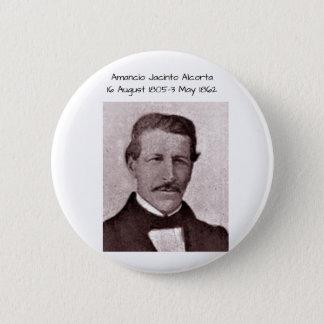 Amancio Jacinto Alcorta 2 Inch Round Button
