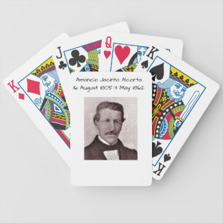 Amancio Jacinto Alcorta Bicycle Playing Cards