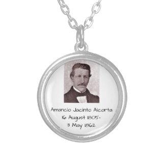 Amancio Jacinto Alcorta Silver Plated Necklace