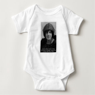 Amanda Christina Elizabeth Aldridge Baby Bodysuit
