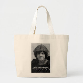 Amanda Christina Elizabeth Aldridge Large Tote Bag