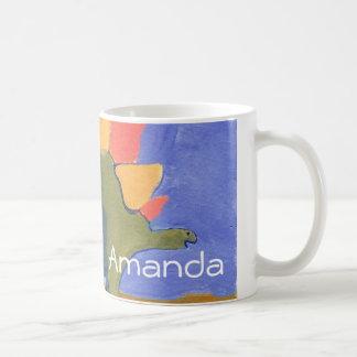 Amanda dino mug