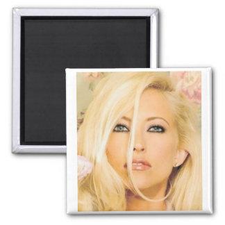 Amanda Henkel Square Magnet
