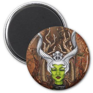 Amanda Lynn 2 Inch Round Magnet