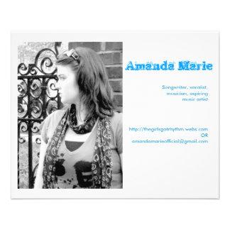 Amanda Marie business cards