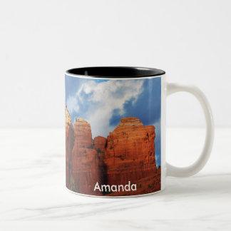 Amanda on Coffee Pot Rock Mug