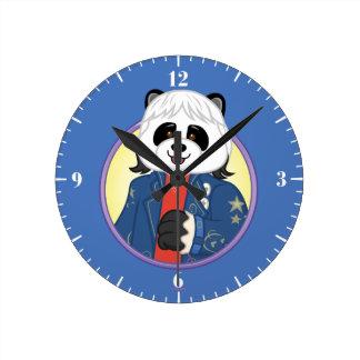 Amanda Panda Clock