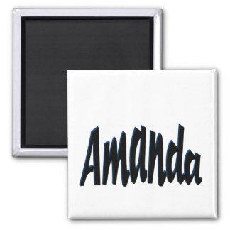 Amanda Square Magnet