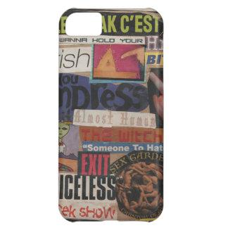 Amanda's magazine & cardboard picture collage #12 case for iPhone 5C