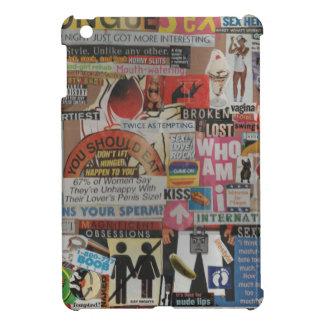 Amanda's magazine & cardboard picture collage #17 case for the iPad mini
