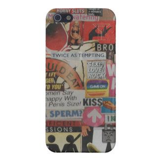 Amanda's magazine & cardboard picture collage #17 iPhone 5 case