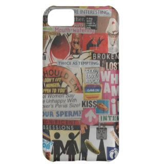 Amanda's magazine & cardboard picture collage #17 iPhone 5C cover