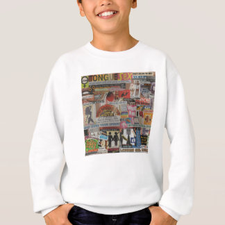 Amanda's magazine & cardboard picture collage #17 sweatshirt
