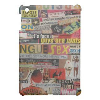 Amanda's magazine & cardboard picture collage #19 iPad mini cover