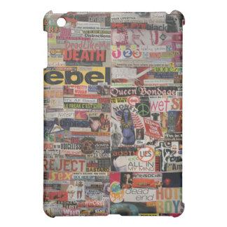 Amanda's magazine & cardboard picture collage #22 iPad mini cover