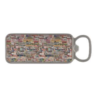 Amanda's word collage craft paper cardboard #24 magnetic bottle opener