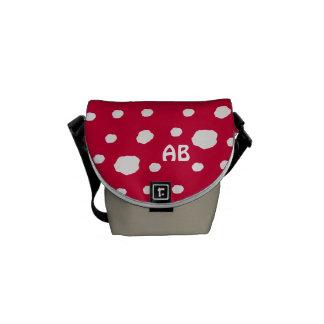 Amanita Fairy Toadstool or Mushroom Commuter Bag