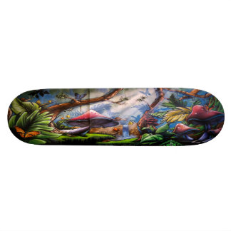 Amanita Falls - Street Art Skateboard Deck