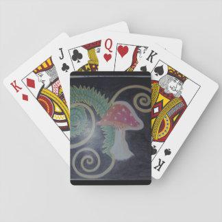 Amanita Fern Playing Cards
