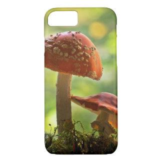 Amanita muscaria - fly agarics iPhone 8/7 case