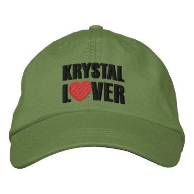Amant de Krystal Casquette De Baseball Brodée