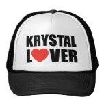 Amant de Krystal Casquette De Camionneur