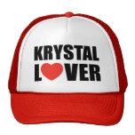 Amant de Krystal Casquettes