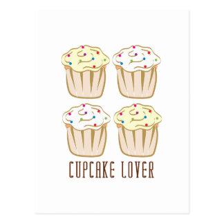 Amant de petit gâteau cartes postales