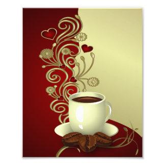 Amant moderne de café photo sur toile