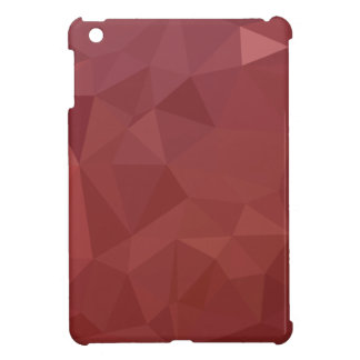 Amaranth Purple Abstract Low Polygon Background Cover For The iPad Mini