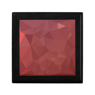 Amaranth Purple Abstract Low Polygon Background Gift Box