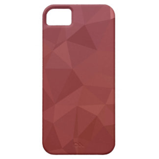 Amaranth Purple Abstract Low Polygon Background iPhone 5 Cover