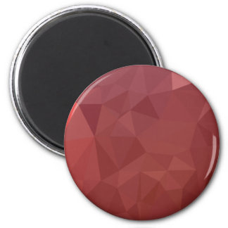 Amaranth Purple Abstract Low Polygon Background Magnet
