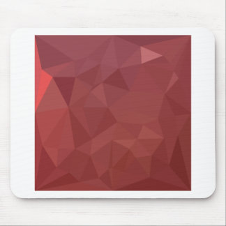 Amaranth Purple Abstract Low Polygon Background Mouse Pad